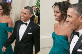 Michelle Obama Marchesa