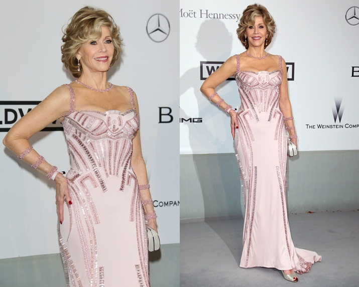 Jane Fonda Versace