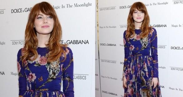 Emma Dolce Gabbana Premiere